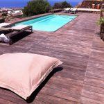 Piscina interrata Magiline tek legno (Pantelleria)