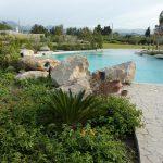 Piscina interrata scenografica laguna (Portorosa)